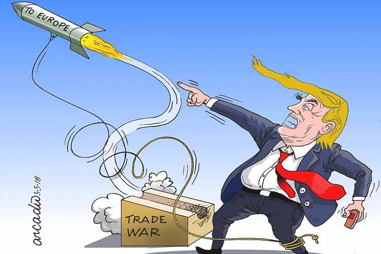 สงครามการค้าขาย Trump แต่ทำไมทำร้ายตัวเอง